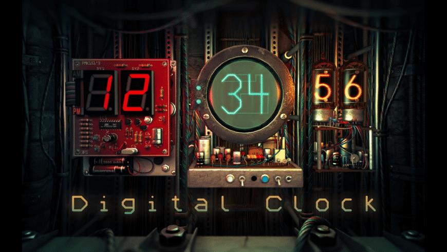 Digital Clock 3D for Mac - review, screenshots