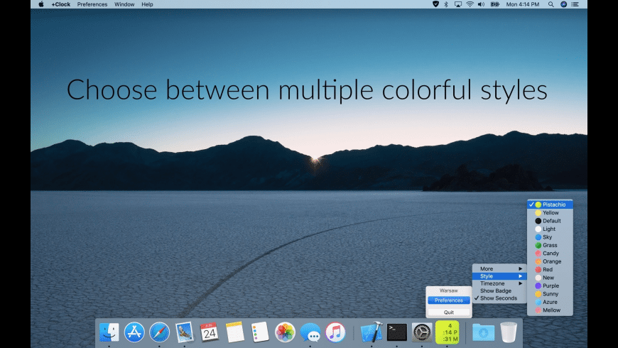+Clock for Mac - review, screenshots