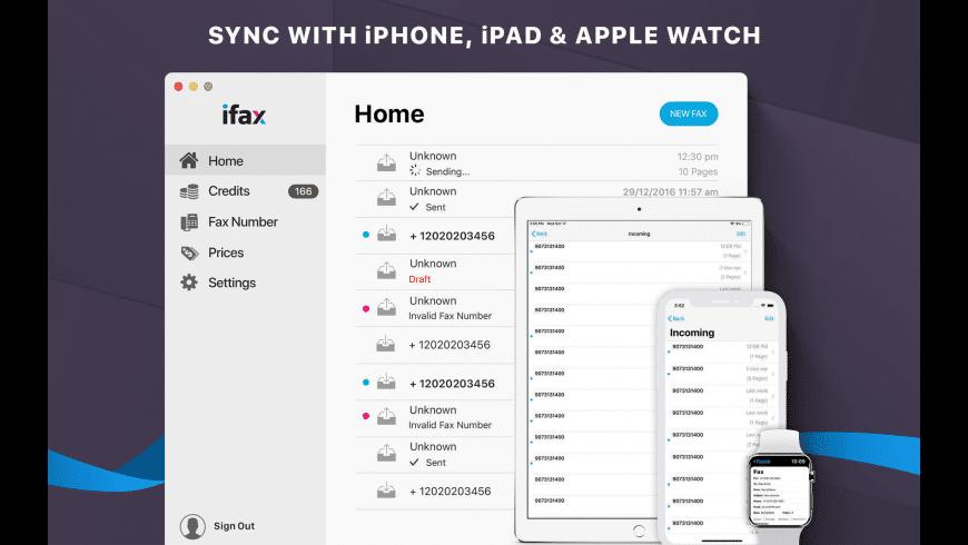 iFax for Mac - review, screenshots