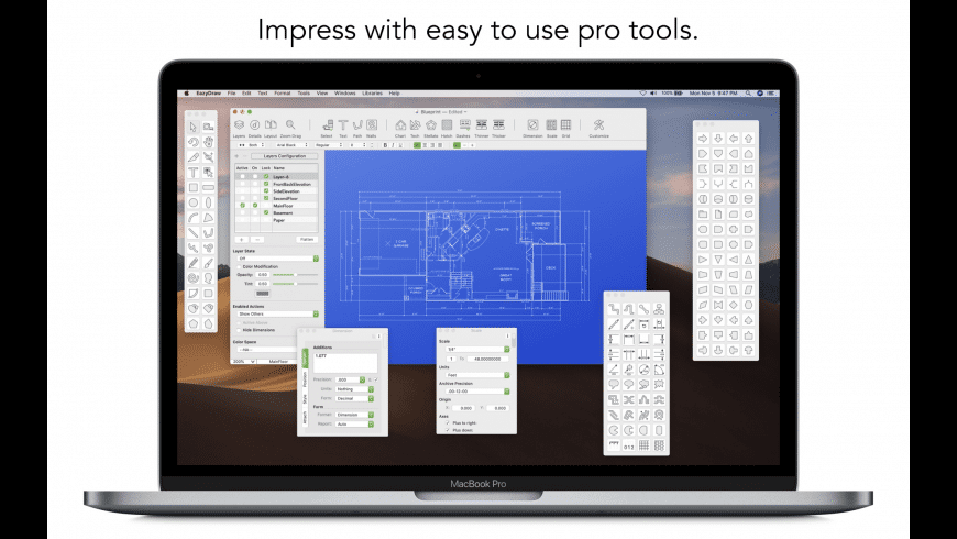 EazyDraw for Mac - review, screenshots