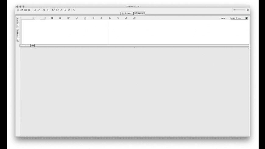 DB Solo for Mac - review, screenshots