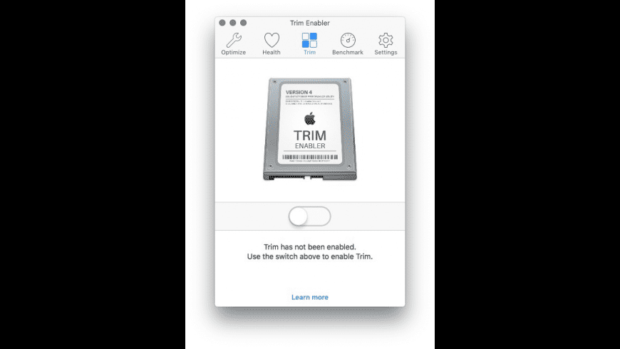 Trim Enabler for Mac - review, screenshots