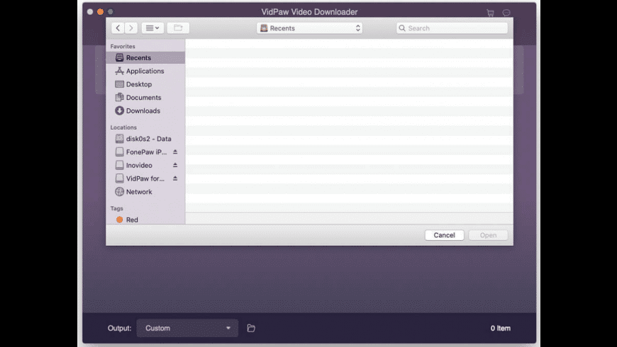 VidPaw for Mac - review, screenshots