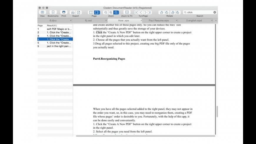 Cisdem Document Reader for Mac - review, screenshots