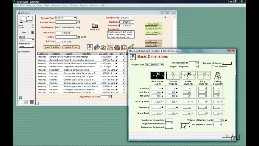 Goldenseal for Mac - review, screenshots