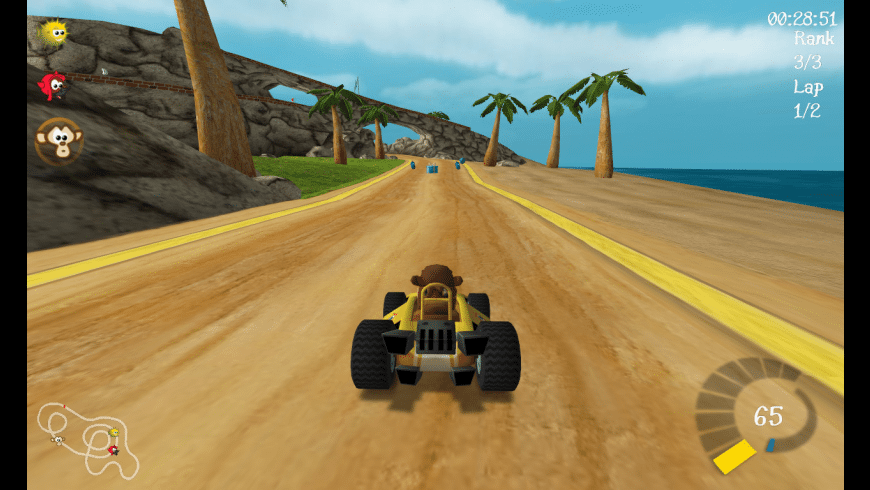 SuperTuxKart for Mac - review, screenshots