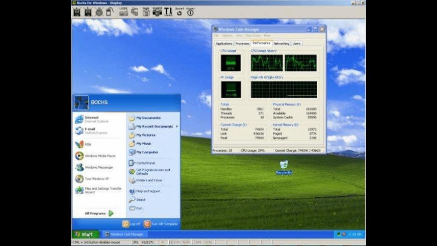 Bochs for Mac - review, screenshots