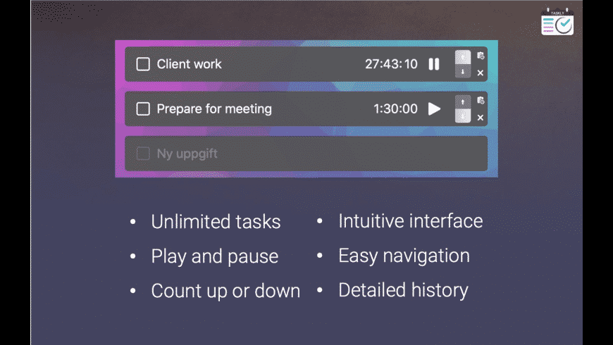 Taskly for Mac - review, screenshots