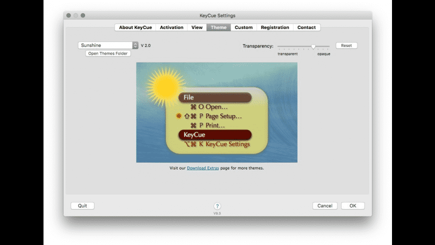 KeyCue for Mac - review, screenshots