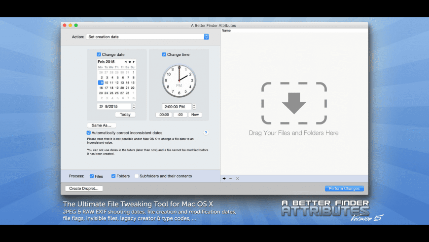 A Better Finder Attributes for Mac - review, screenshots