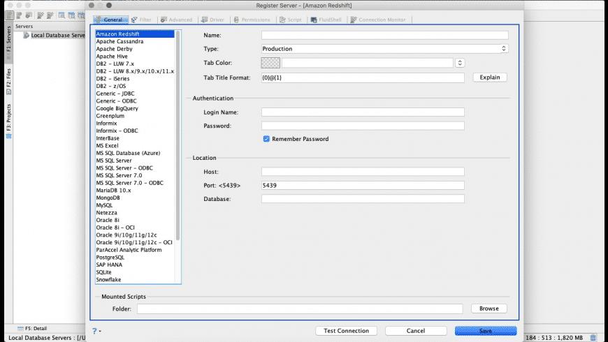 Aqua Data Studio for Mac - review, screenshots