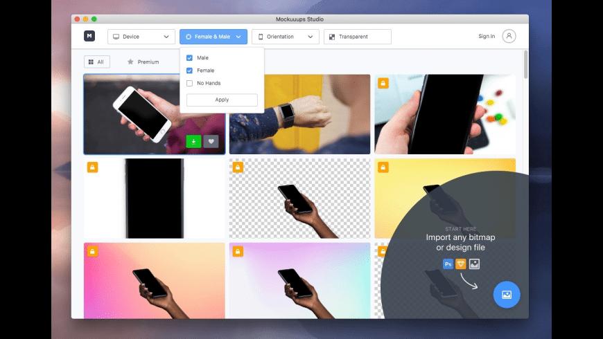 Mockuuups Studio for Mac - review, screenshots