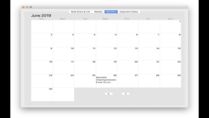 Daynotes for Mac - review, screenshots