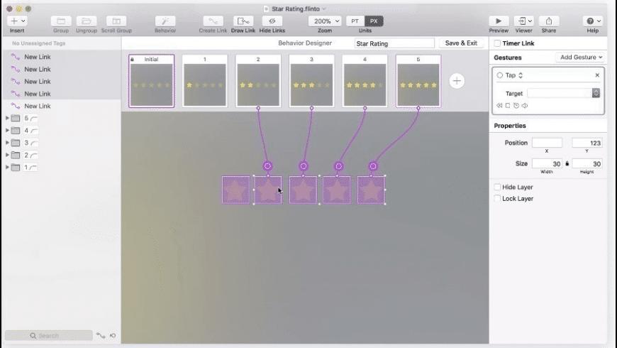 Flinto for Mac - review, screenshots