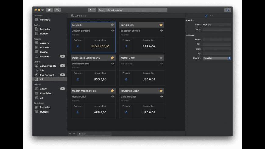 FreelanceStation for Mac - review, screenshots