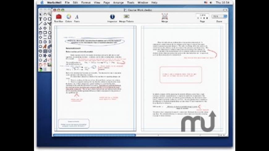 WorksWell for Mac - review, screenshots