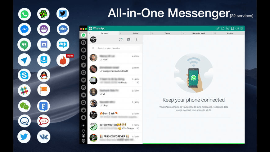 One Chat for Mac - review, screenshots