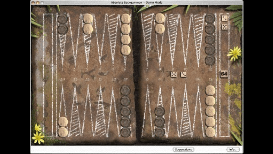Absolute Backgammon 64 for Mac - review, screenshots