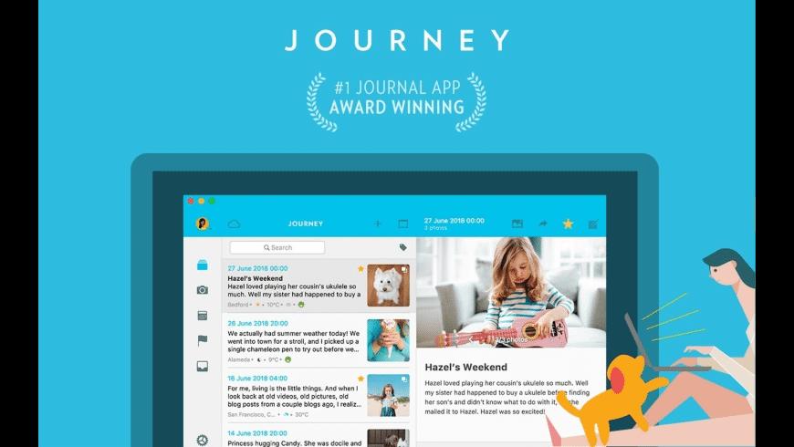 Journey for Mac - review, screenshots
