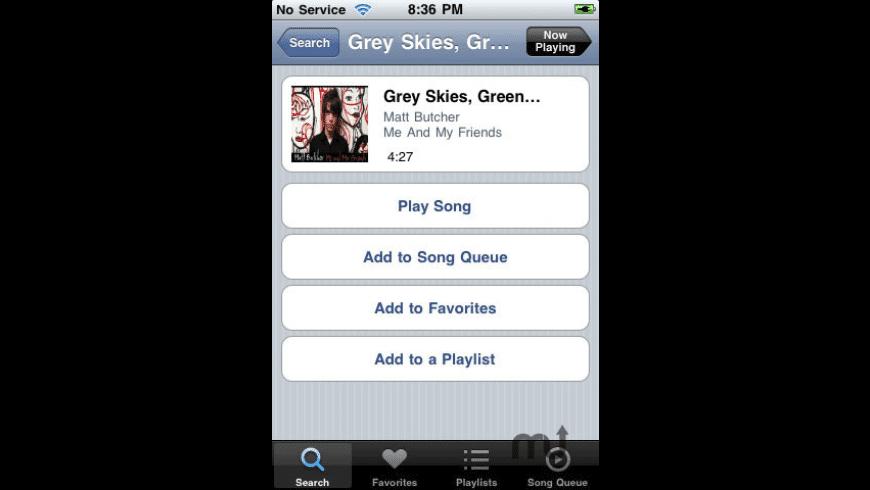 Grooveshark for Mac - review, screenshots