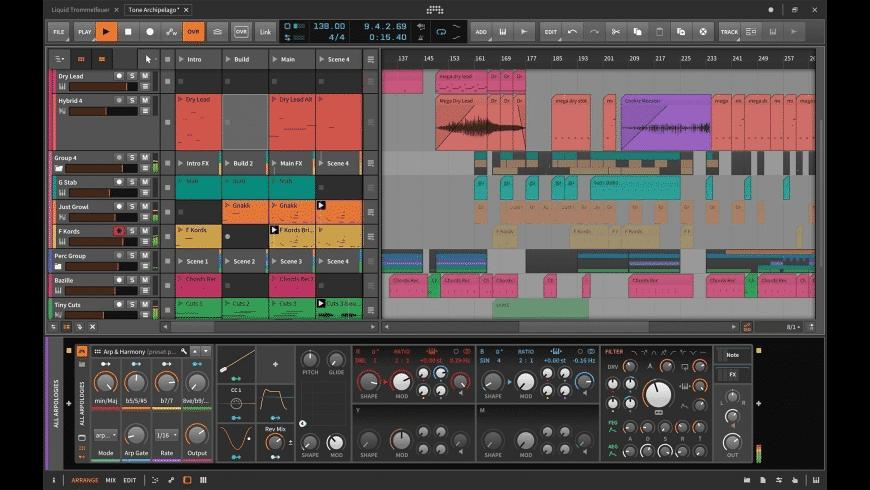 Bitwig Studio for Mac - review, screenshots