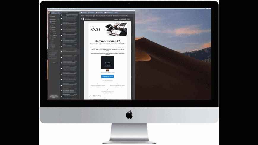 FMail for Mac - review, screenshots