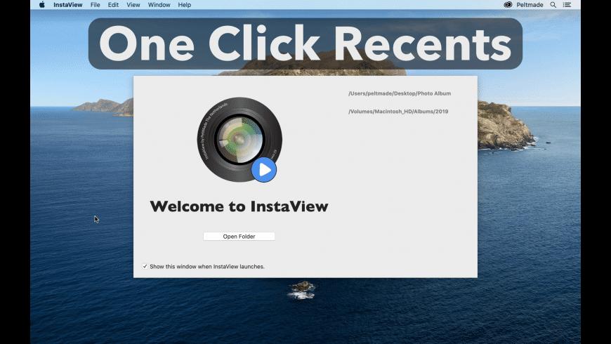 InstaView for Mac - review, screenshots