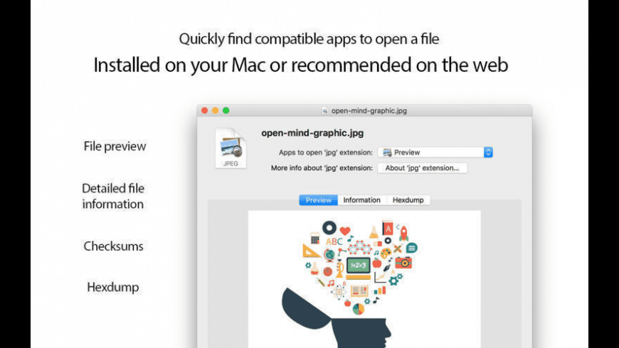 Open Any File for Mac - review, screenshots