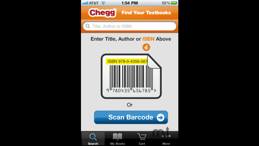 Chegg for Mac - review, screenshots