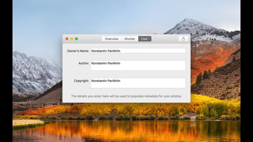 ShutterCheck for Mac - review, screenshots