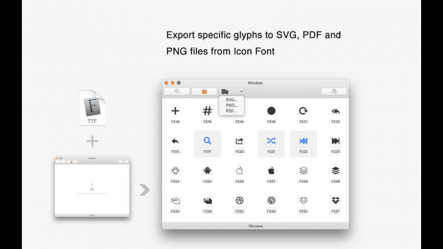 WebFont for Mac - review, screenshots