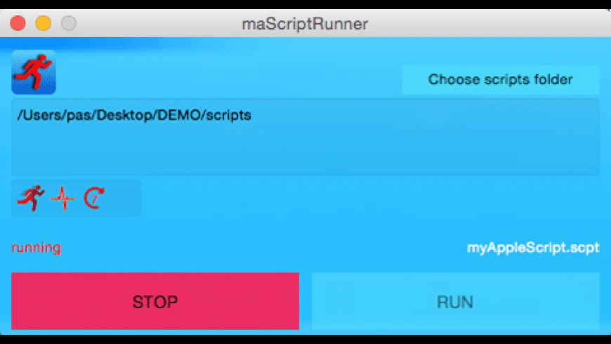 maScriptRunner for Mac - review, screenshots