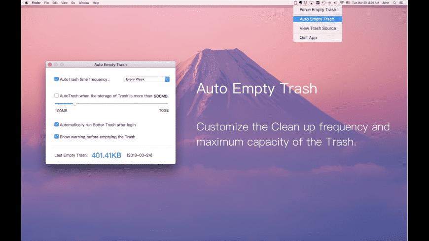 Better Trash for Mac - review, screenshots