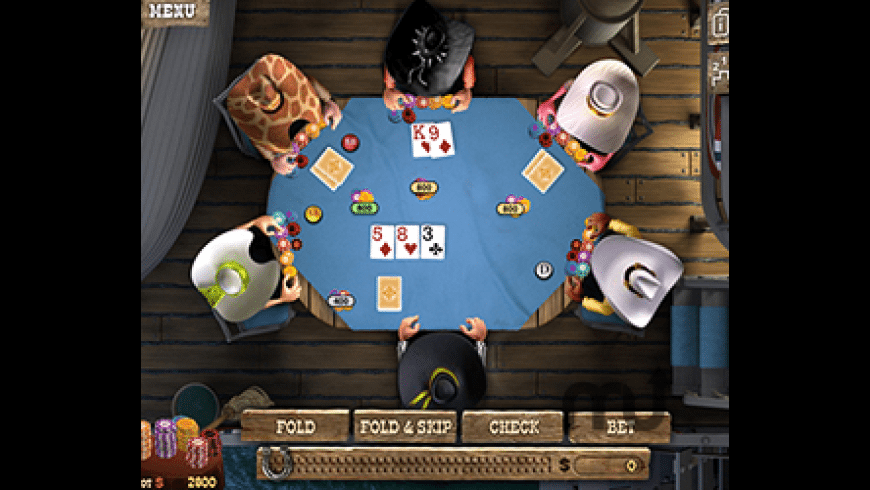Governor of Poker 2 for Mac - review, screenshots