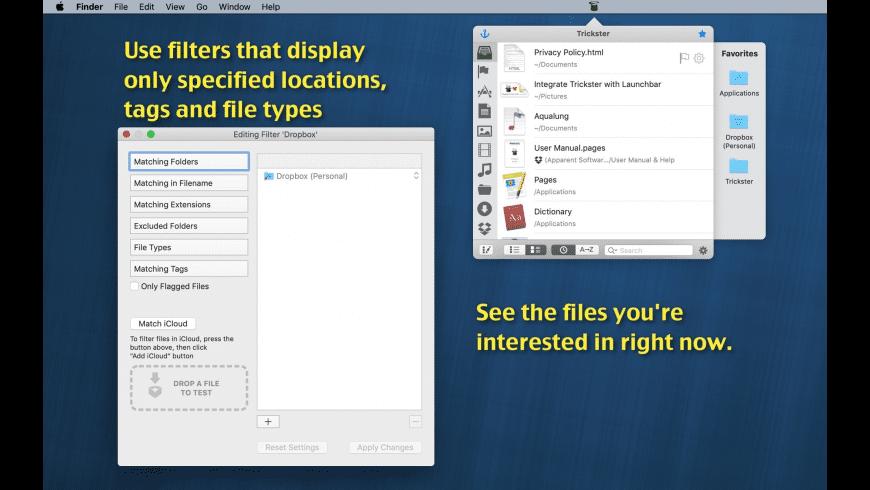 Trickster for Mac - review, screenshots