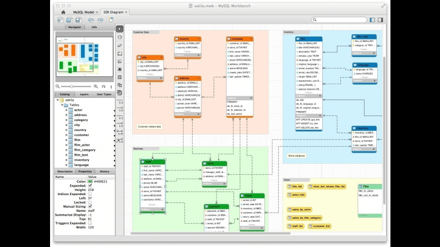 MySQL Workbench for Mac - review, screenshots