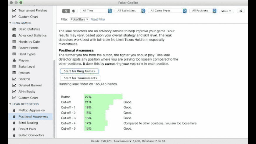 Poker Copilot for Mac - review, screenshots