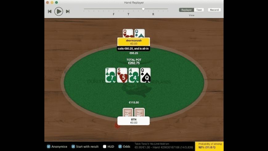 Poker Copilot for Mac - review, screenshots