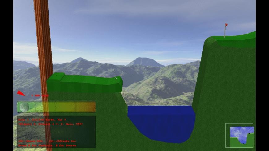 Rocket Golf for Mac - review, screenshots