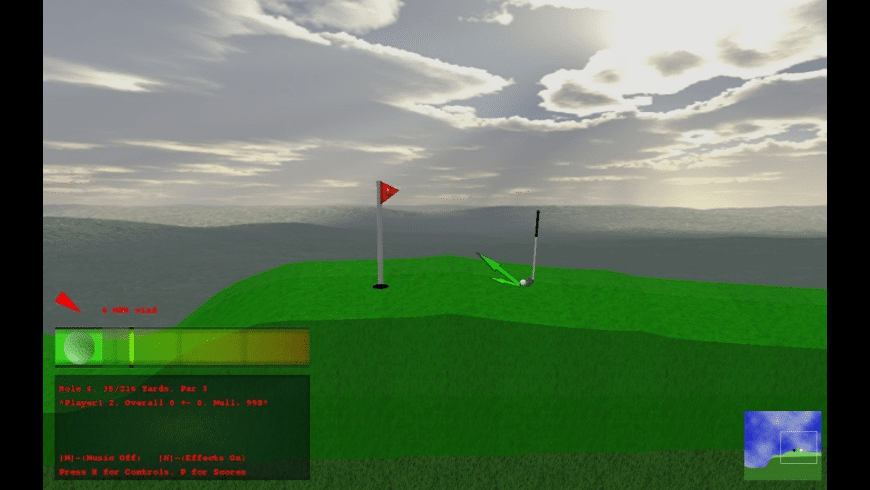 Rocket Golf for Mac - review, screenshots