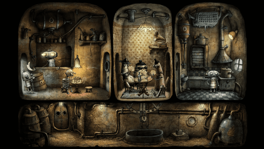 Machinarium for Mac - review, screenshots