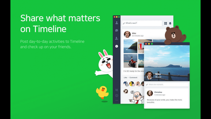 LINE for Mac - review, screenshots