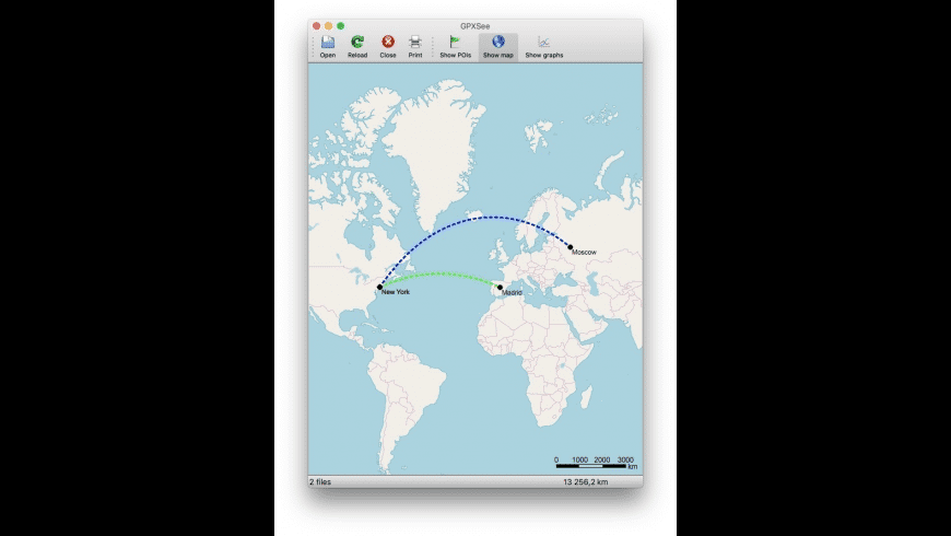 GPXSee for Mac - review, screenshots