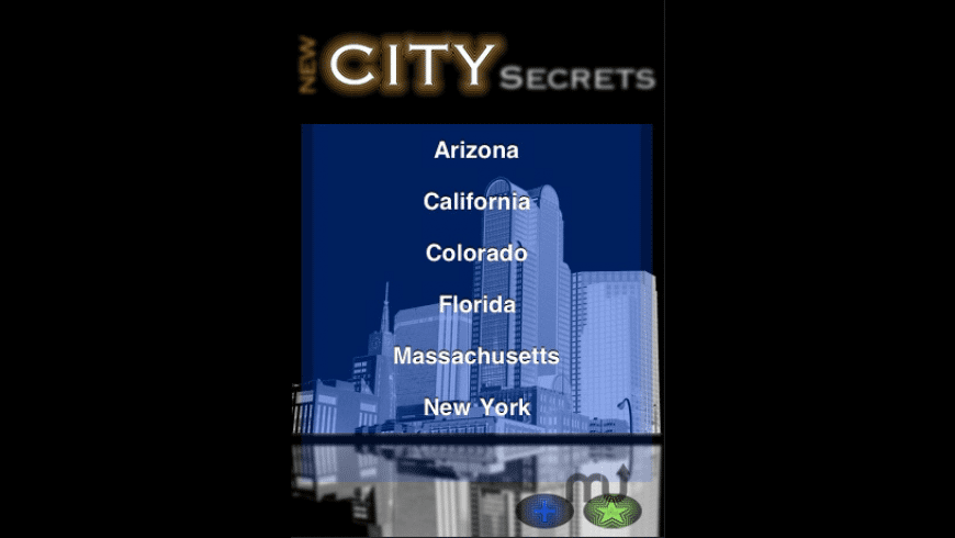 New City Secrets for Mac - review, screenshots