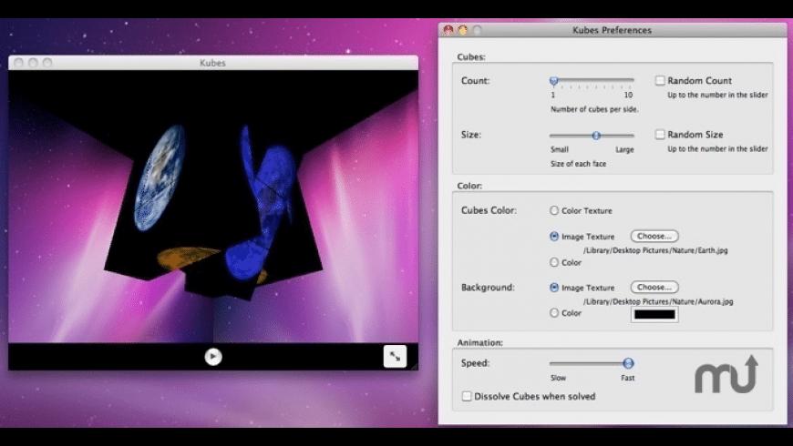 Kubes for Mac - review, screenshots