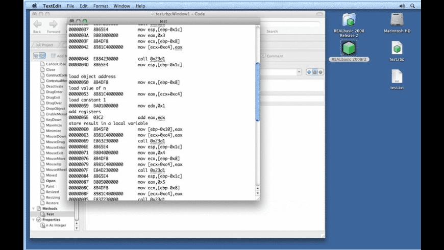 MBS Xojo Plug-ins for Mac - review, screenshots