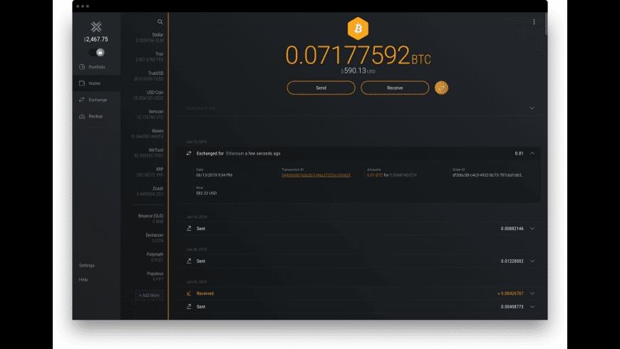 Exodus for Mac - review, screenshots