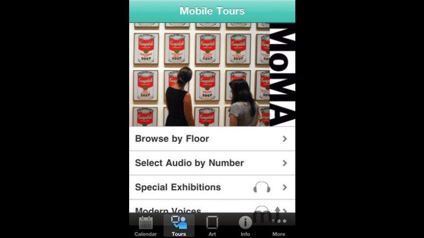 MoMA for Mac - review, screenshots