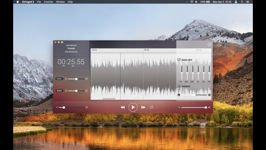 Stringed for Mac - review, screenshots