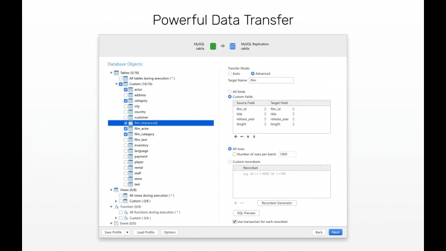 Navicat for MySQL for Mac - review, screenshots